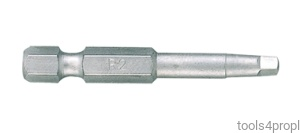 BIT DO WKRĘTAREK 1/4'' KWADRAT No.0 x 50mm King Tony 715000R