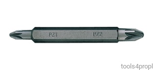 BIT DWUSTRONNY 1/4'' POZIDRIV No.2 / PŁASKI 5,5 x 1,0 x 60mm King Tony 1360552Z